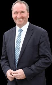 Deputy Prime Minister of Australia, Barnaby Joyce.