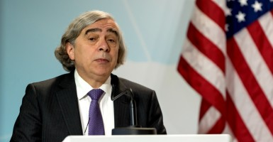 U.S. Secretary of Energy Ernest Moniz. (Photo: Pacific Press/Sipa USA/Newscom)