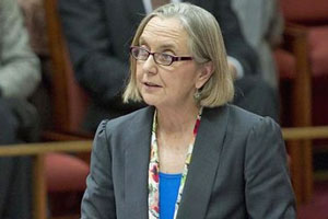 Australian Greens Party Senator Lee Rhiannon