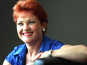 Australian Senator Pauline Hanson