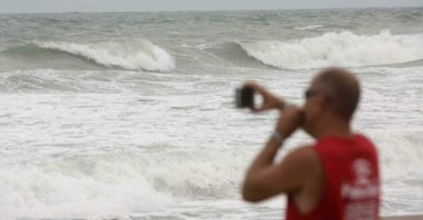 America has seen abnormally few hurricanes over the last several decades. (Photo: Henry Romero/Reuters/Newscom)
