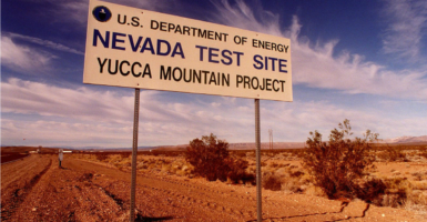 Yucca Mountain has turned into a political football and a litmus test for many politicians, some of whom have built whole careers around this issue alone. (Photo: Chris Polydoroff /KRT/Newscom)