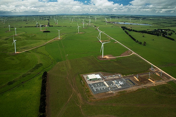 Macarthur Wind Plant In Victoria Australia