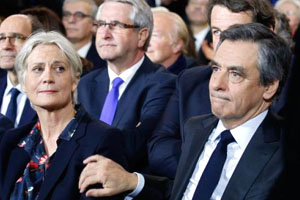 Penelope and Francois Fillon