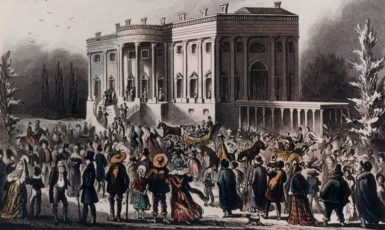Andrew Jackson's inaugural White House party became legendary for the wild crowd that surged into the presidential mansion. (Photo: Picture History/Newscom)